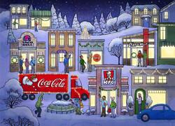 YUM/Coca Cola Christmas Card