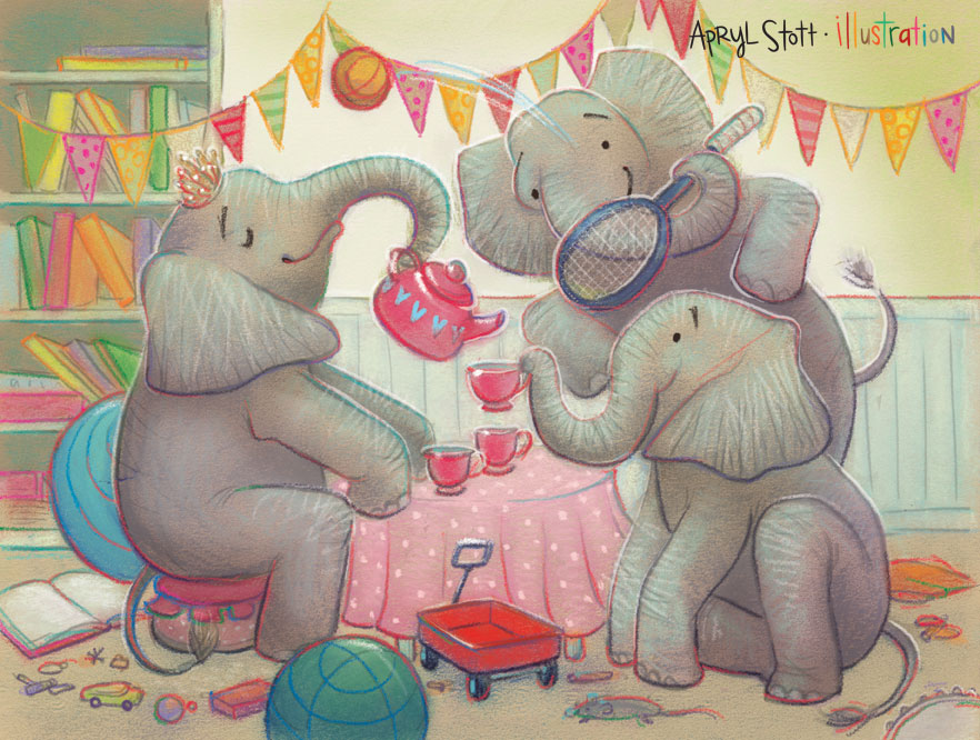 ElephantTeaParty-AprylStott