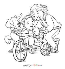 TricycleColoringPage-AprylStott