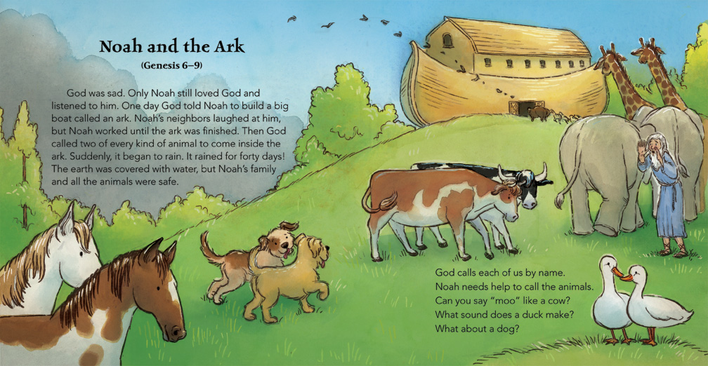 Bible Stories - Noah and the Animals