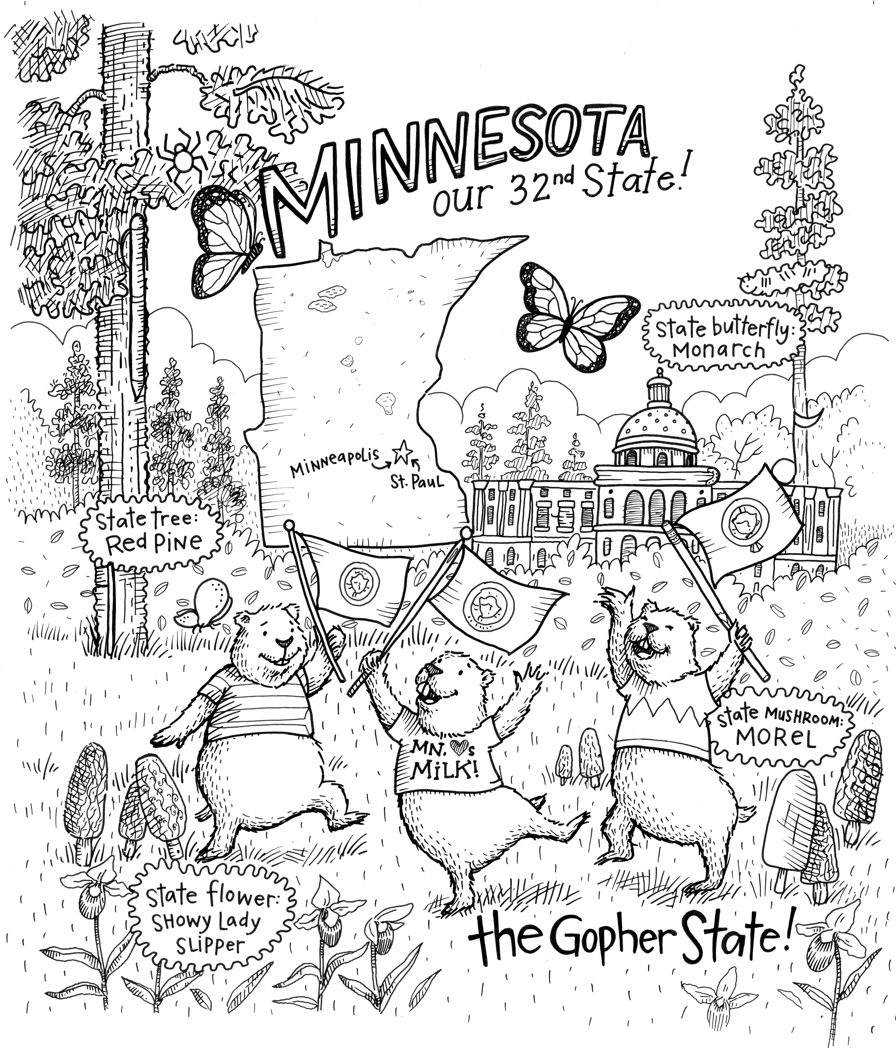 The Grand State of Minnesota