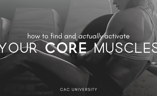 How to Find and Actually Activate your Core Muscles