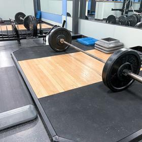 Lifting Platforms on Weight Floor