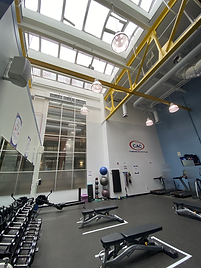 Open Ceiling Above Weight Floor