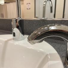Hands free sinks