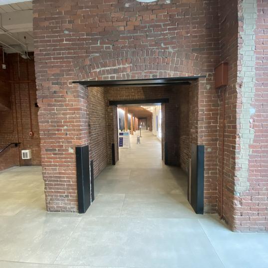 Hallway to CAC inside OKS
