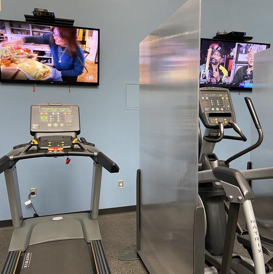 Treadmills, ellipticals