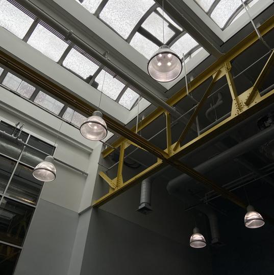 Overhead natural lighting