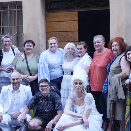 22 giugno 2019: replica di VIAROMA #MEMORIEDELSUOLO, delegazione Serbia e Bosnia Erzegovina
