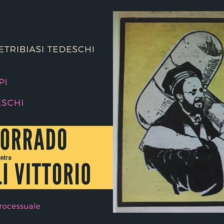 8 maggio 2019: COSTA CORRADO contro TONDELLI VITTORIO