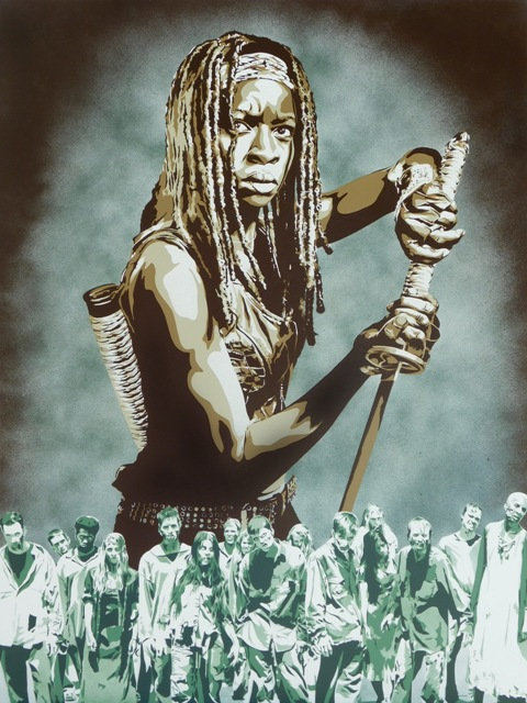 Walking Dead-Michonne