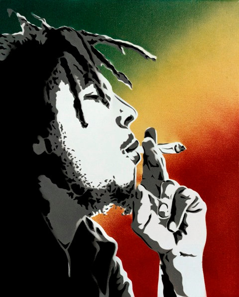 Bob Marley -Colors