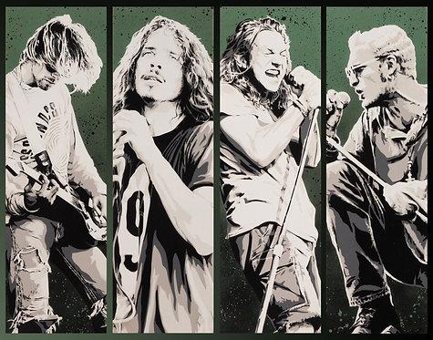 Four Grungemen