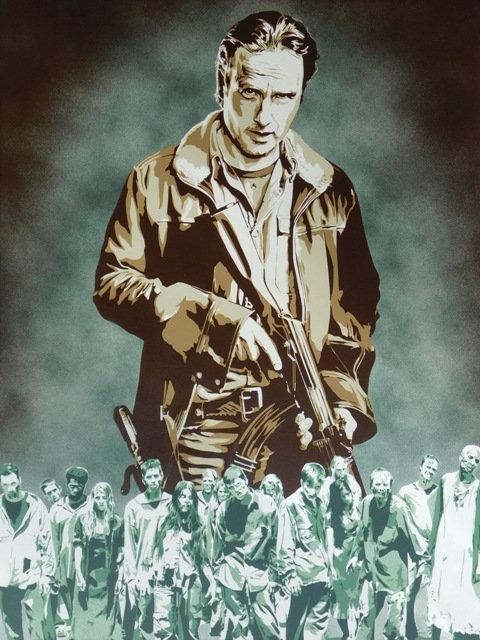 Walking Dead-Rick