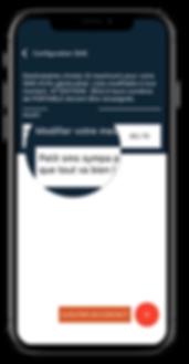 parametres application monsherif