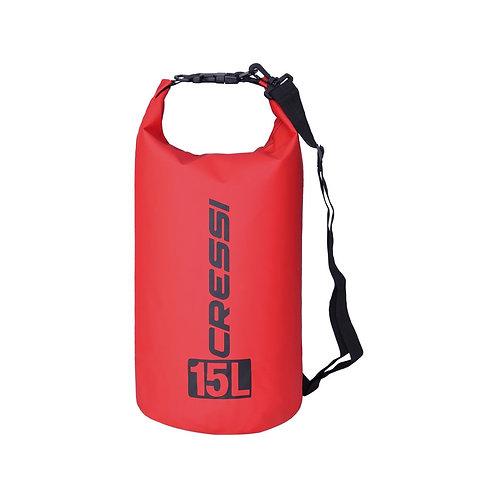 Cressi Dry Bag Red 15L