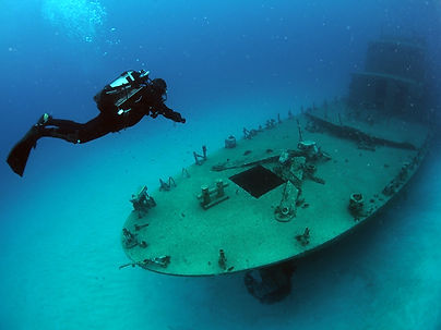 Dive Company Wien | Padi Wracktauchkurs