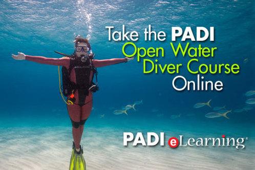 PADI e-learning Open Water Diver incl. Zertifikat