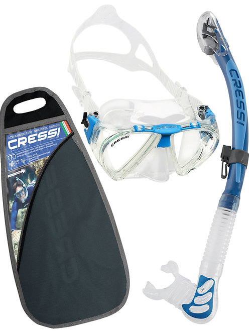 Cressi Sub Penta & Alpha Ultra Dry Set