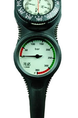 Polaris 2er TOP-Line Konsole Finimeter & Kompass