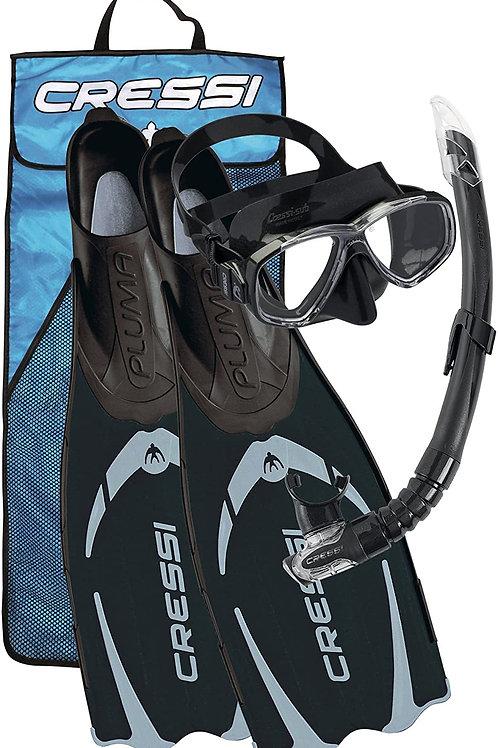Cressi Pluma / Pluma Bag - Premium Flossen Set