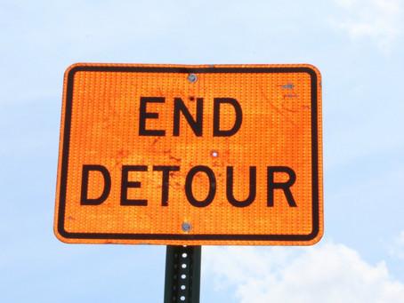 The Detour Ends