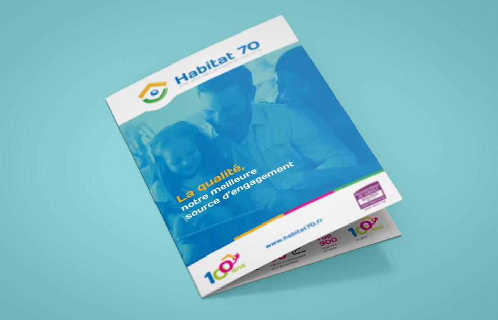 Dépliant Habitat 70