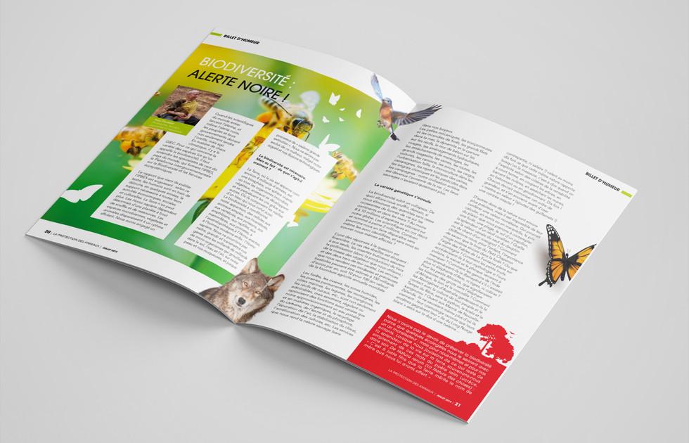 Magazine trimestriel La Protection des animaux - SPA de Lyon