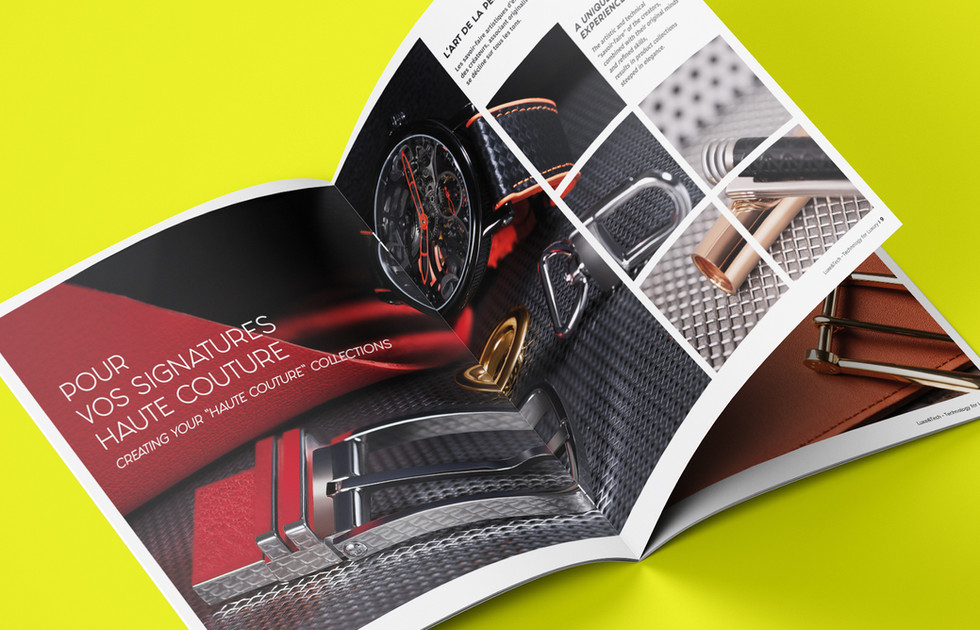 Brochure Luxe & Tech double page 1