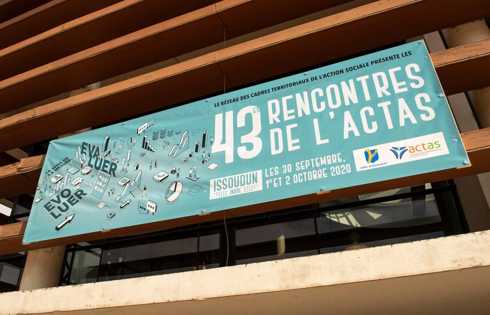 banniere 43es Rencontres ACTAS