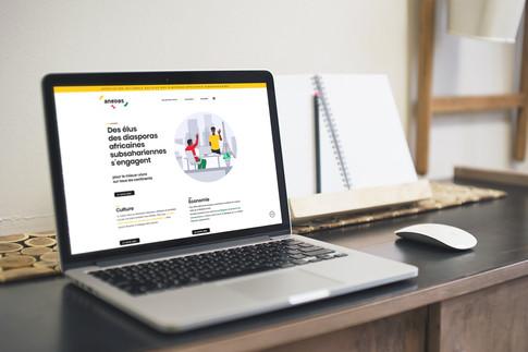 Site internet Anedas