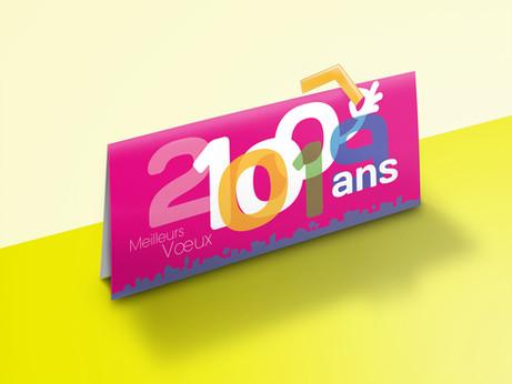 BRANDING - 100 ans d'Habitat 70, événement, Haute Saône