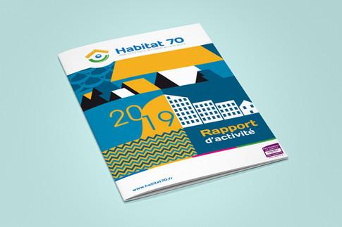 ÉDITION - Rapport d'activité d'Habitat 70