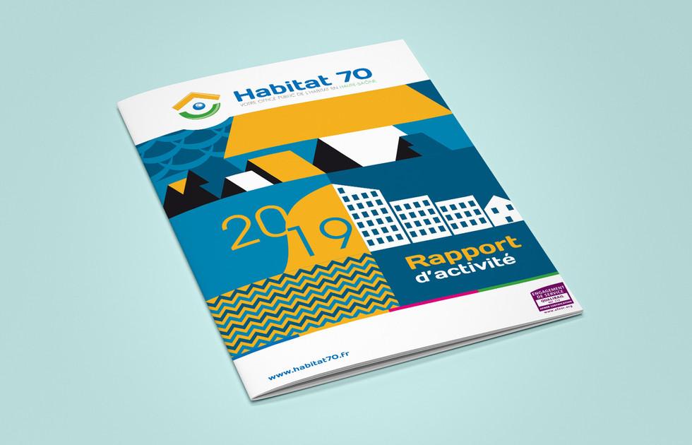 Rapport activite Habitat 70
