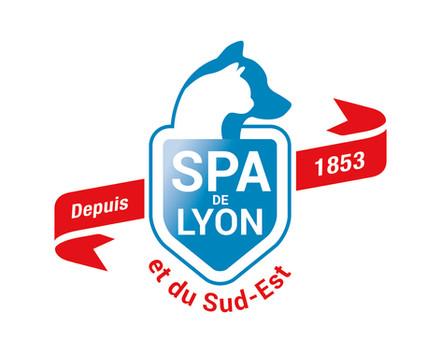 BRANDING - SPA de Lyon, logotype, protection animal, Lyon