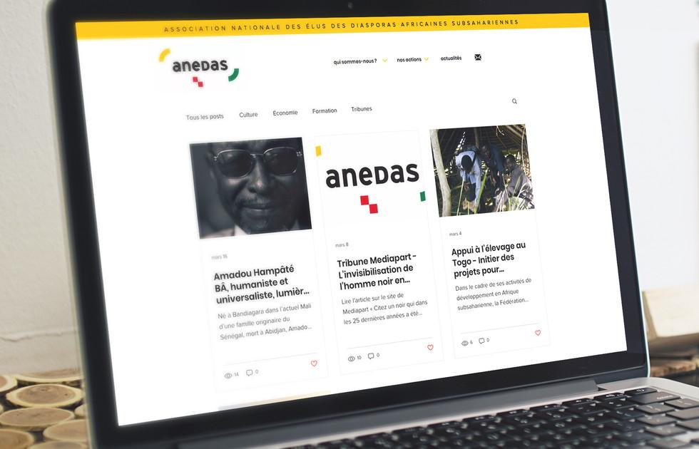 Site internet des élus d'Afrique