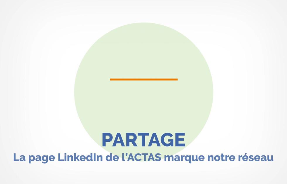 Motion design ACTAS stratégie de communication