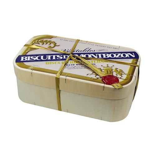 BOÎTE EN BOIS 30 BISCUITS DE MONTBOZON