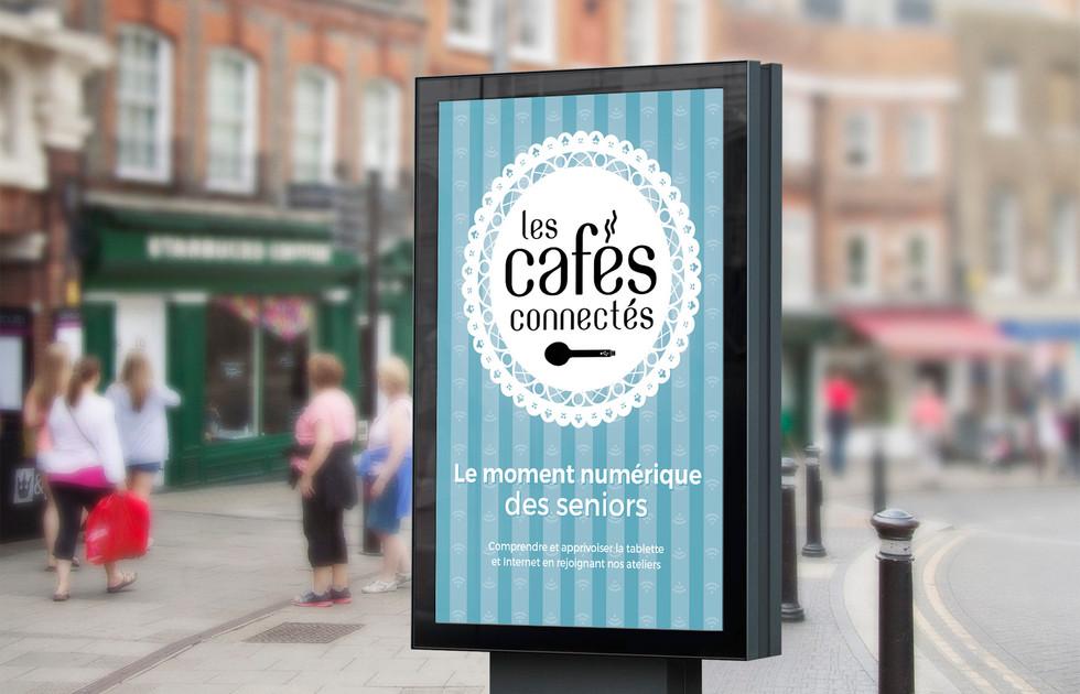 Les cafés connectés de l'UDCCAS 25 affiche du Doubs