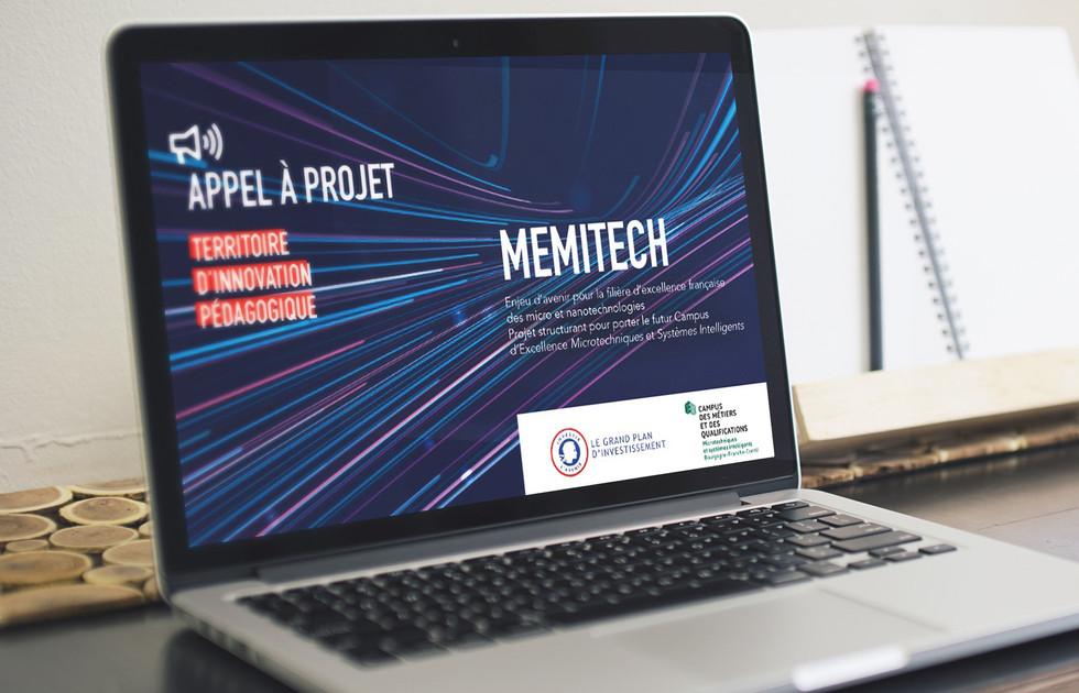 Présentation Powerpoint MEMITECH ENSMM