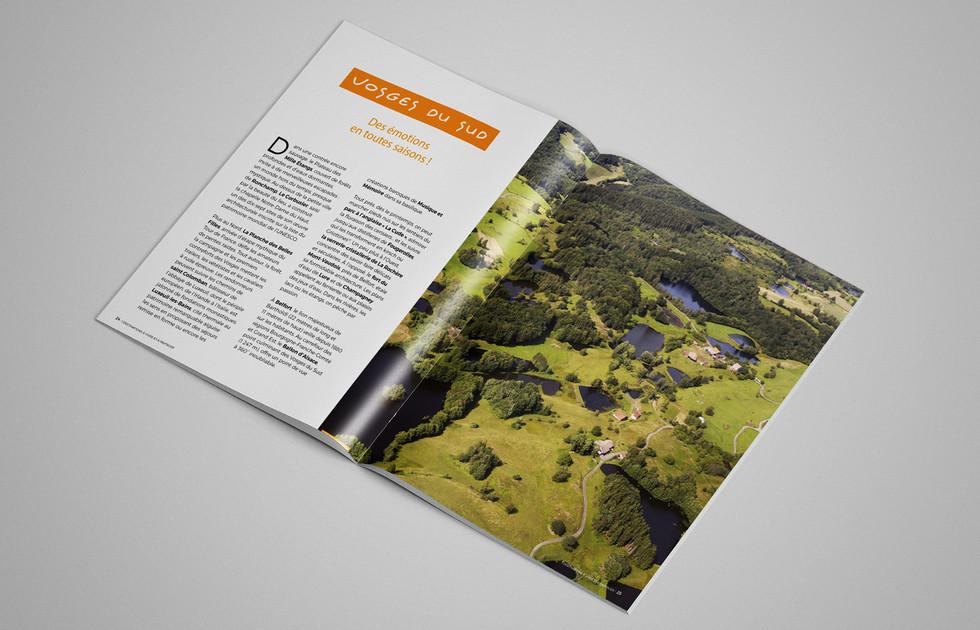 Magazine touristique Destination 70 Mille étangs