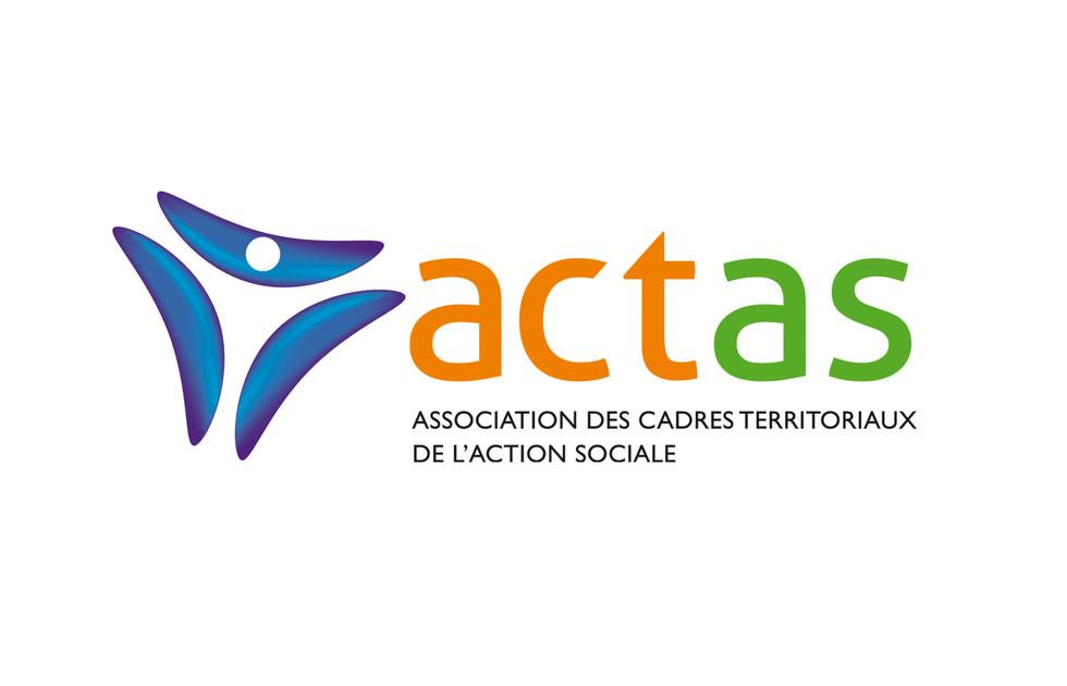 Logotype de l'ACTAS, action sociale
