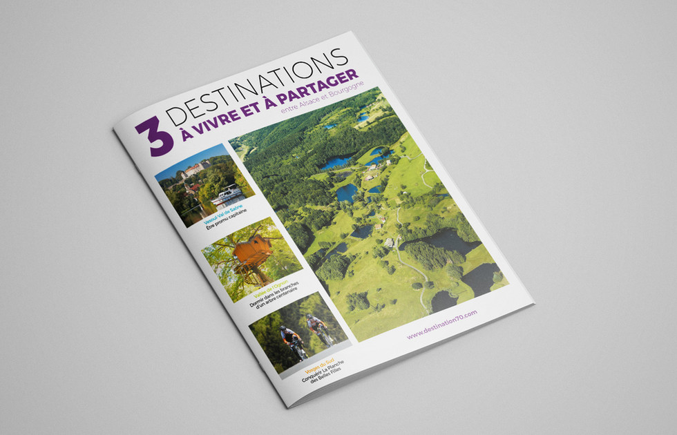Magazine touristique Destination 70