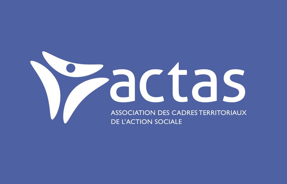 charte graphique de l'ACTAS, action sociale