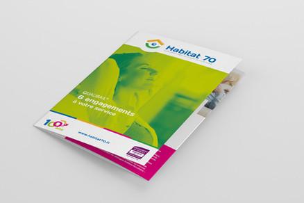 ÉDITION - Supports de communication Qualibail, Habitat 70
