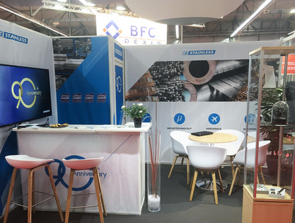STAND - Stainless, Salon professionnel, Besançon