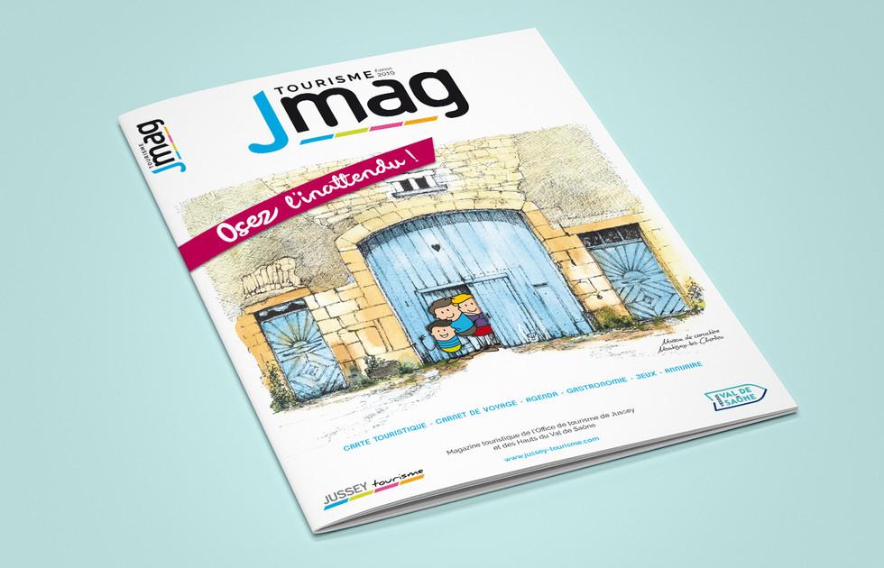 Magazine Office de tourisme de Jussey