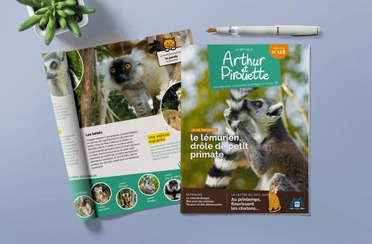 ÉDITION - Arthur et Pirouette, SPA LyonSPA magazine