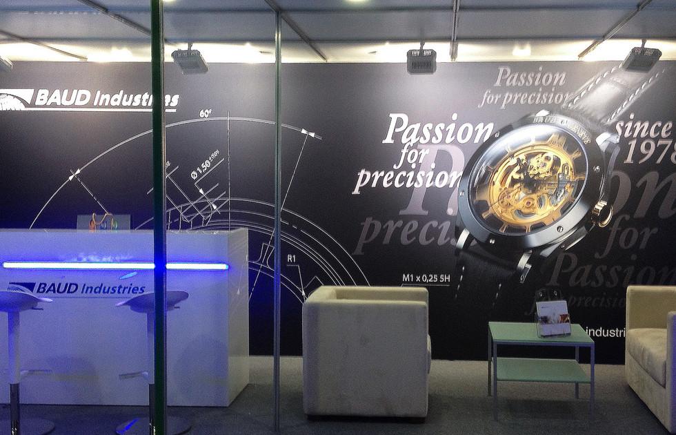 BAUD Industries - stand salon EPHJ