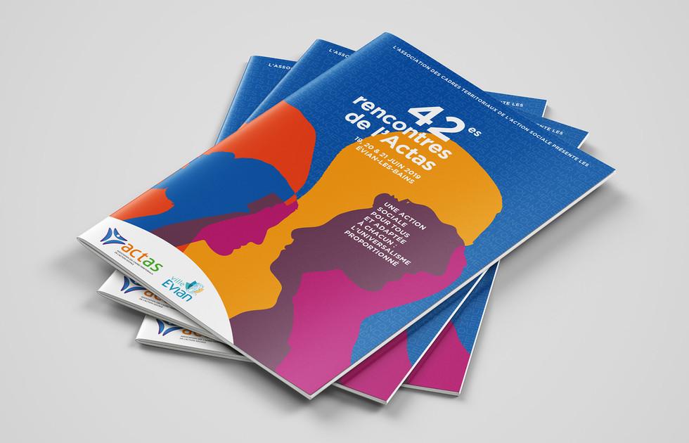 Programme 42es Rencontres de l'ACTAS action sociale - Évian-les-Bains